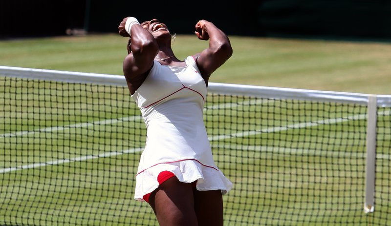 Serena Williams wimbledon 2010 getty images