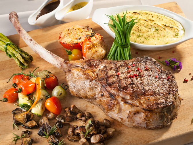 22 prime ribeye steak