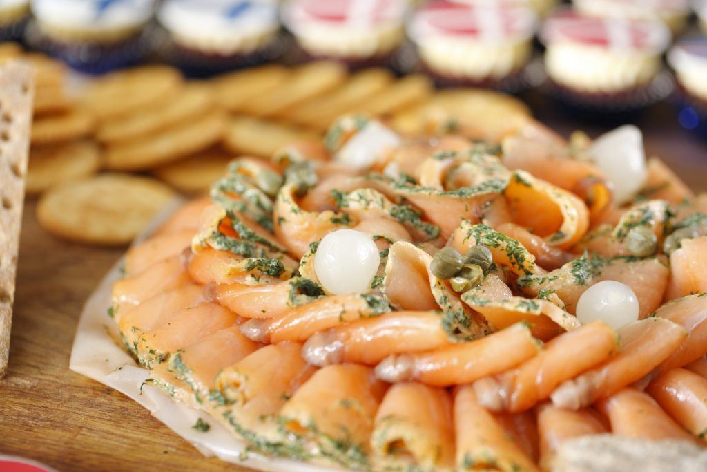 salmon cold cut Crayfish Party