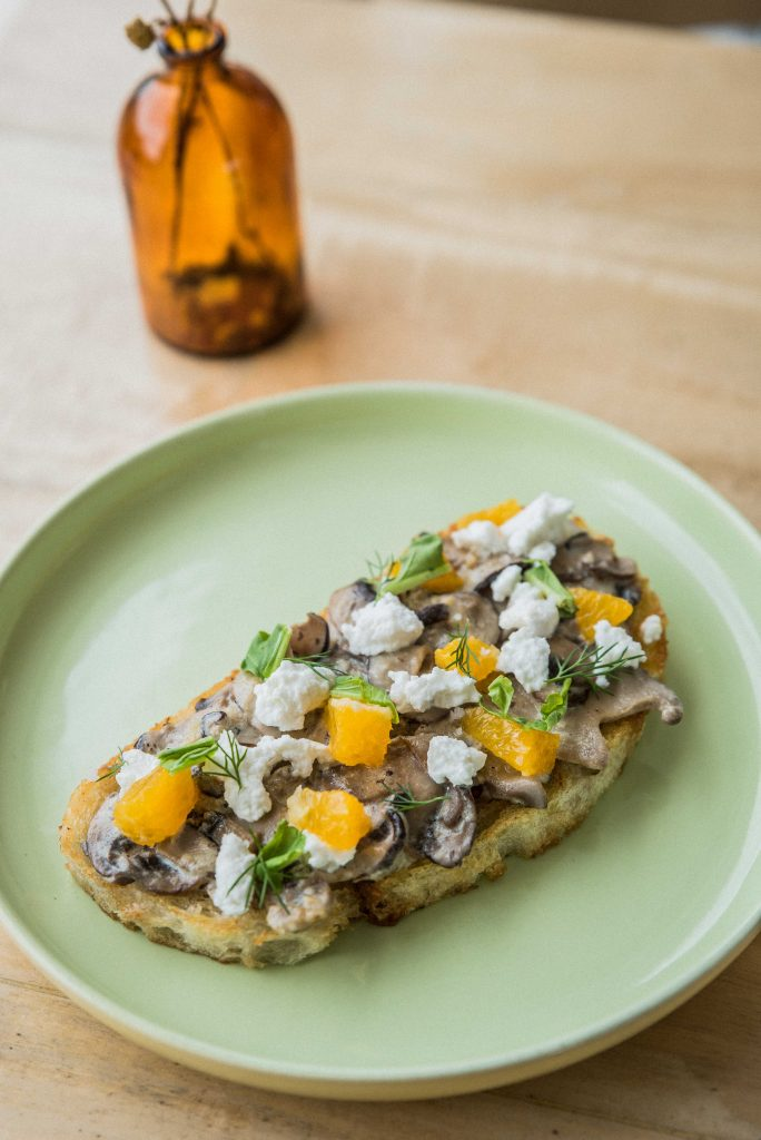 Nolisoli Kale Manila mushroom toast brunch manila fairview cafes
