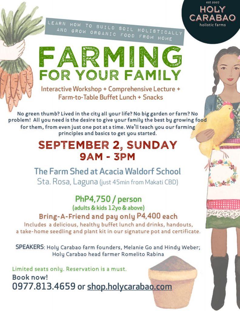 nolisoli family farming holy carabao