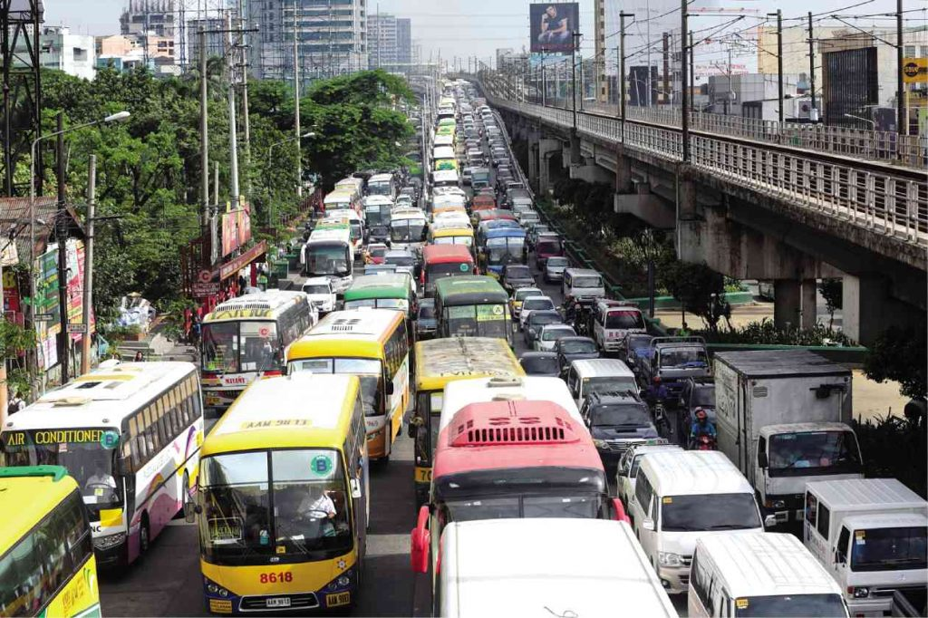 edsa traffic inquirer.net