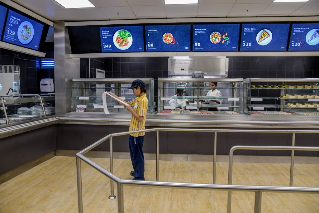 cafeteria ikea hyderabad Atul Loke for The New York Times