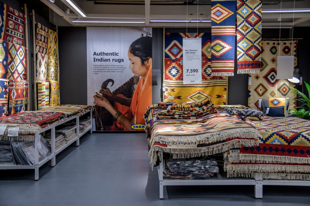rugs ikea hyderabad Atul Loke for The New York Times