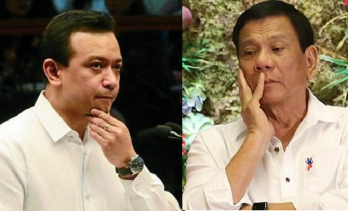 trillanes duterte inquirer