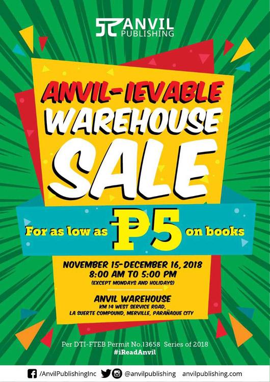 anvil warehouse sale