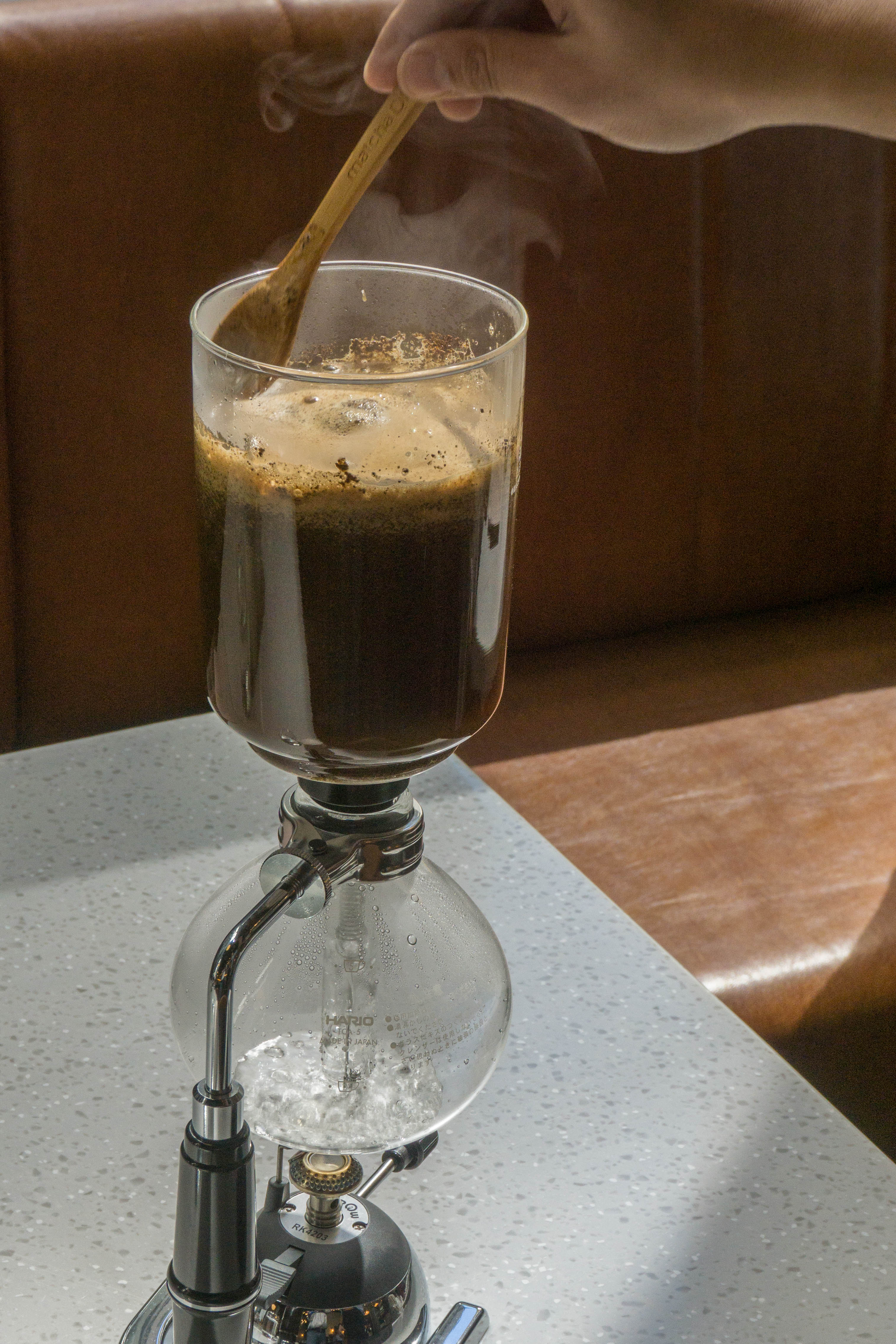 Refinery Salcedo coffee siphone