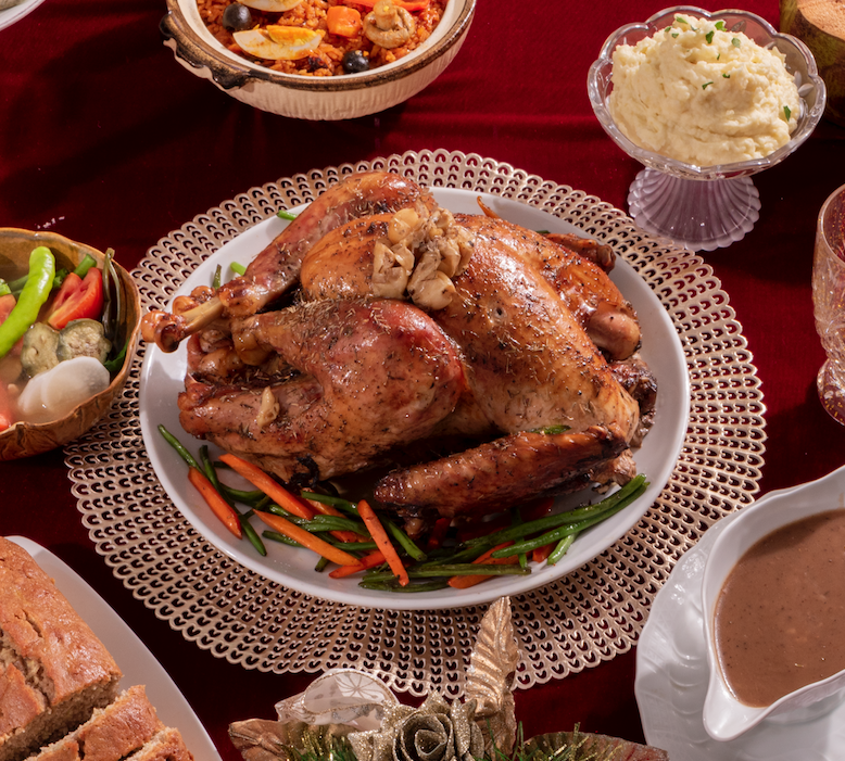 nolisoli alternative noche buena spread roast turkey healthy nawwtys kitchen