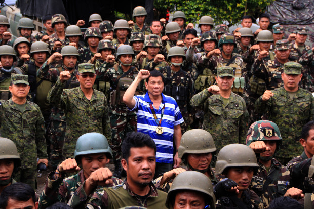 martial law extension