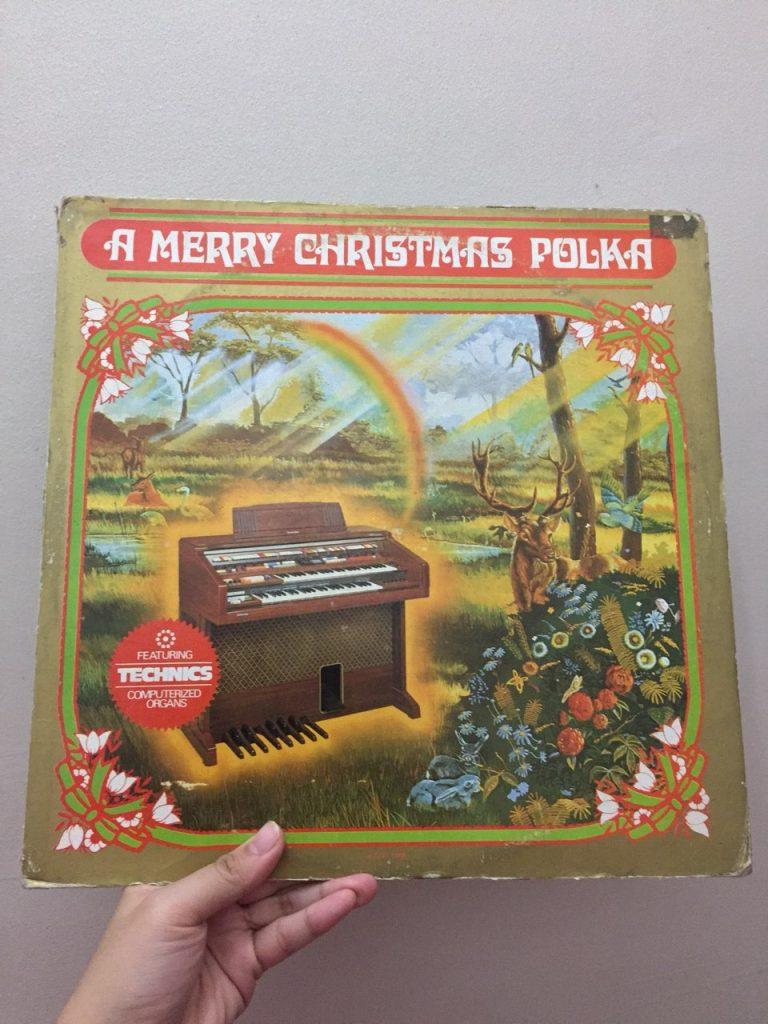 a merry christmas polka christmas record music