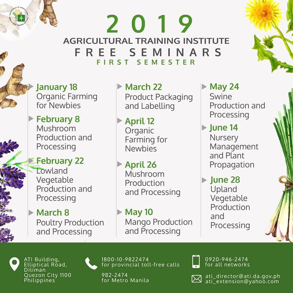 da free farming seminar