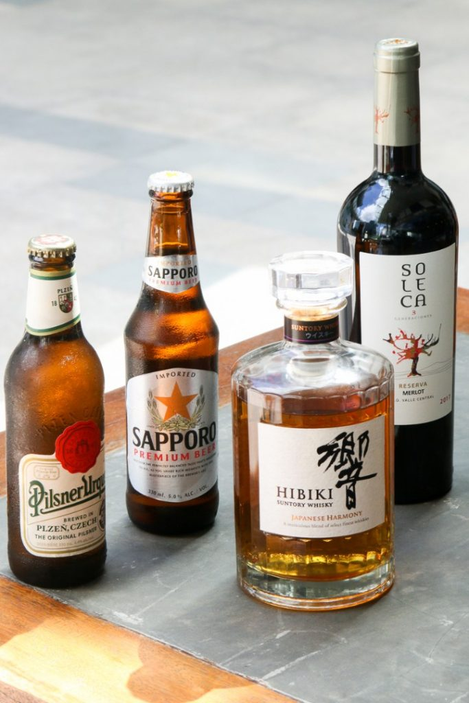 nikkei nama bar drinks