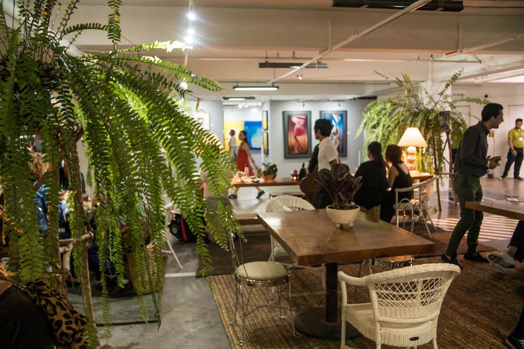 nolisoli art fair tsaa laya tea salon