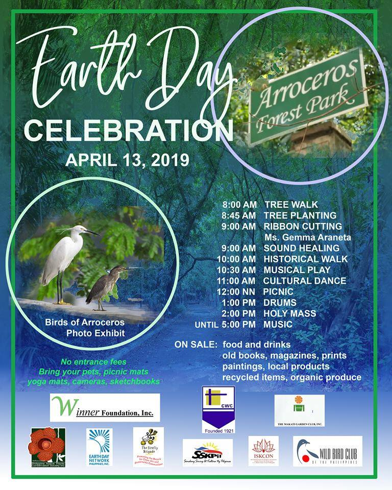 arroceros forest park earth day
