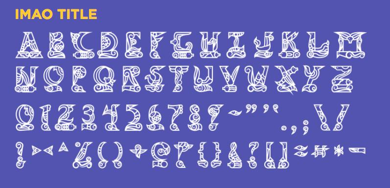 imao typeface