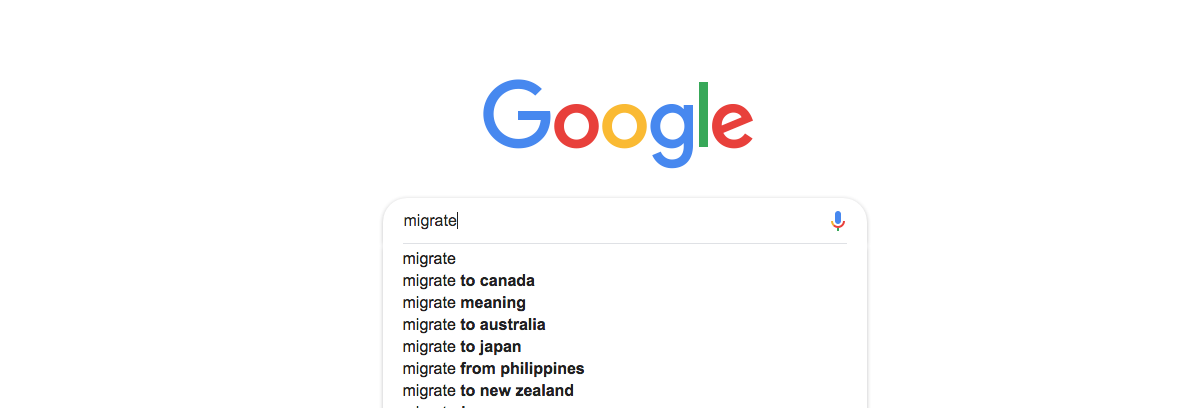 As poll results come in, searches on migrating surges - NOLISOLI