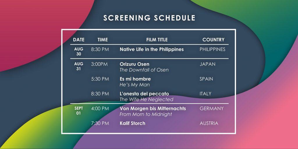 international silent film festival manila