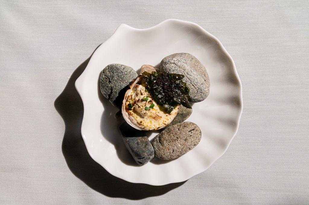 kabibi, linamnam restaurant, private dining, seaweed