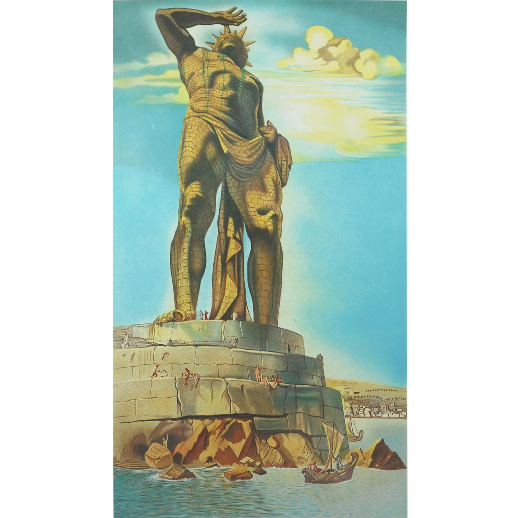 nolisoli bid gavel and block salcedo auction salvador-dali-colossus_of_rhodes_1