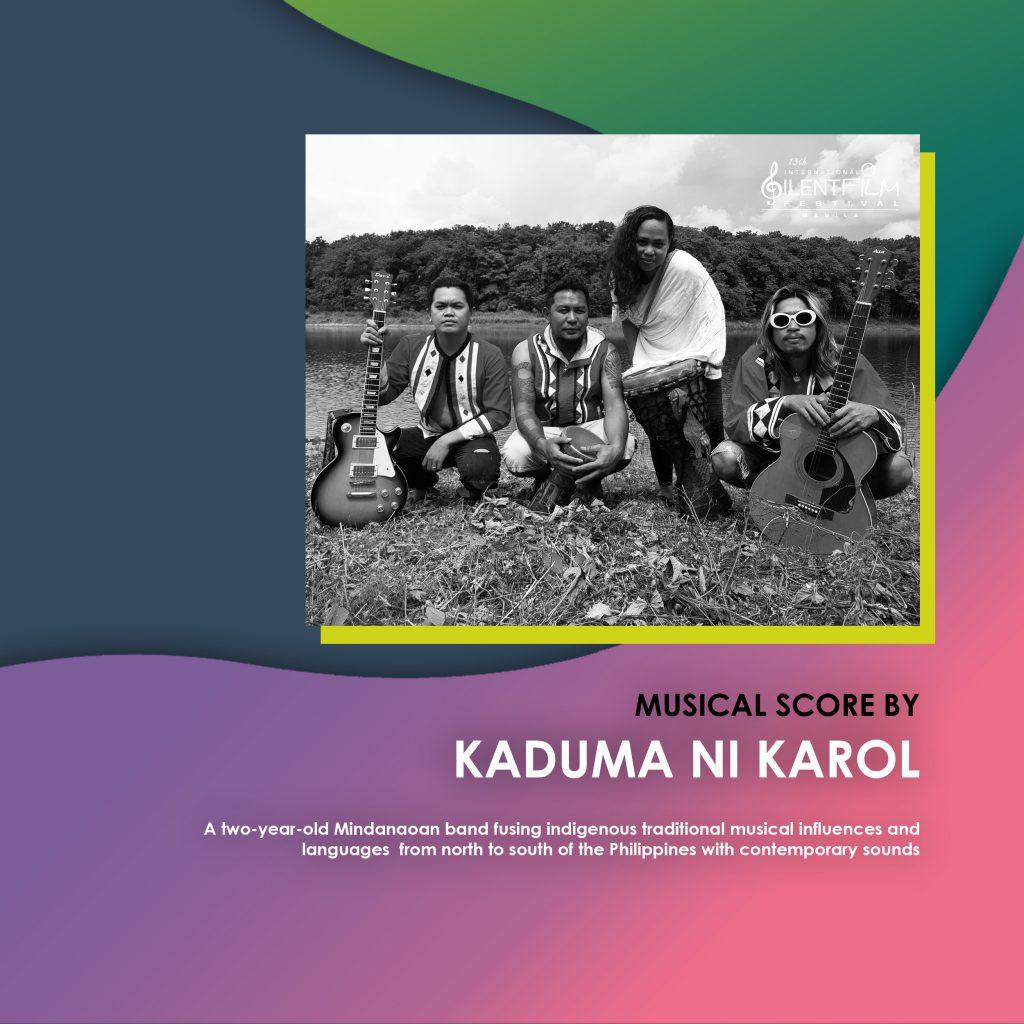 kaduma ni karol, japan foundation manila, 13th international silent film festival manila