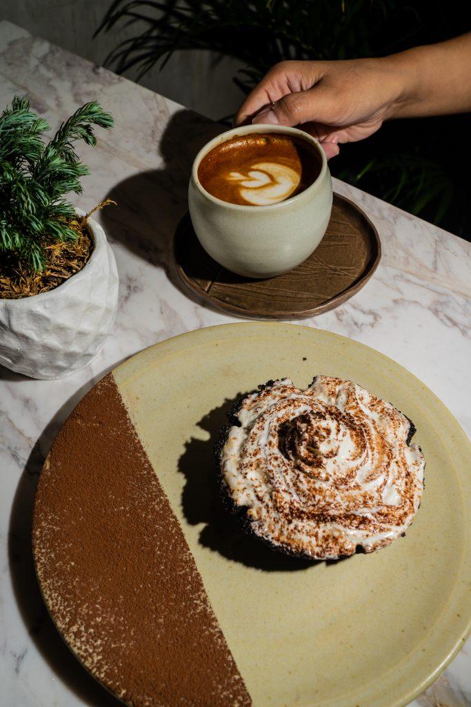 bad cafe, chocolate espresso pie