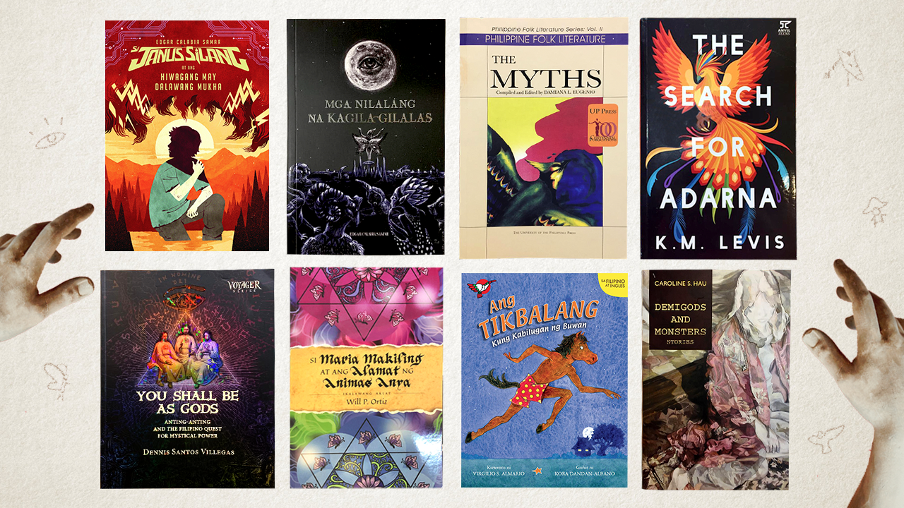 8 books on Philippine mythology and where to find them at