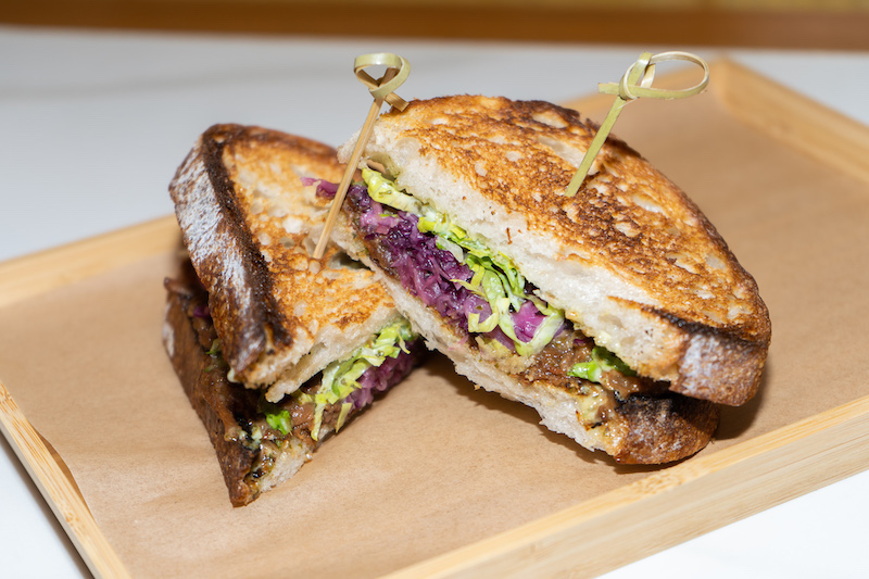 Tokyo Milk Cheese Factory's 12 Hour Short-rib Sandwich