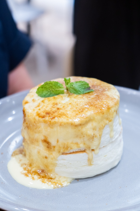 Tokyo Milk Cheese Factory Cafe's Creme Brûlée Pancakes
