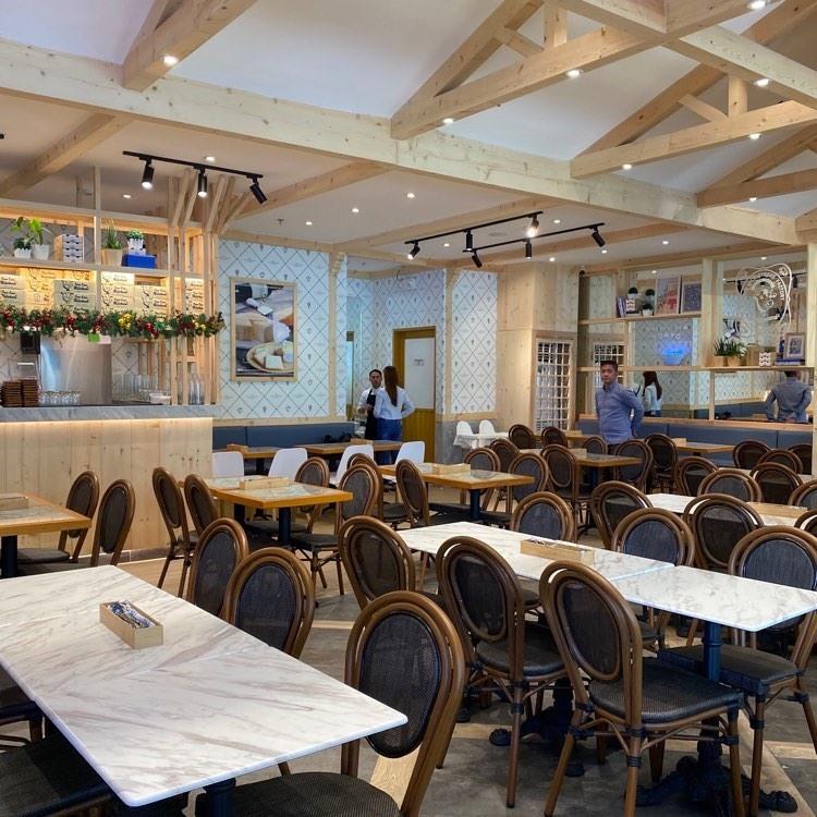Tokyo Milk Cheese Factory Cafe's Dining Area in Estancia at Ayala Malls Manila Bay