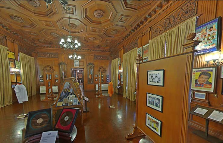 virtual tour presidential museum and library