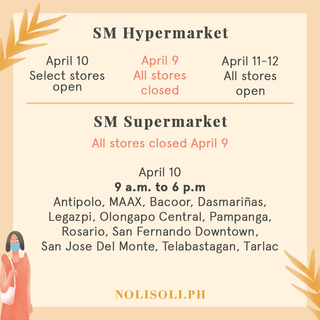 grocery holy week
