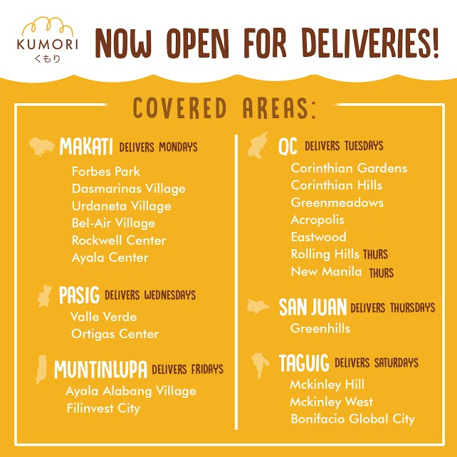 kumori service areas