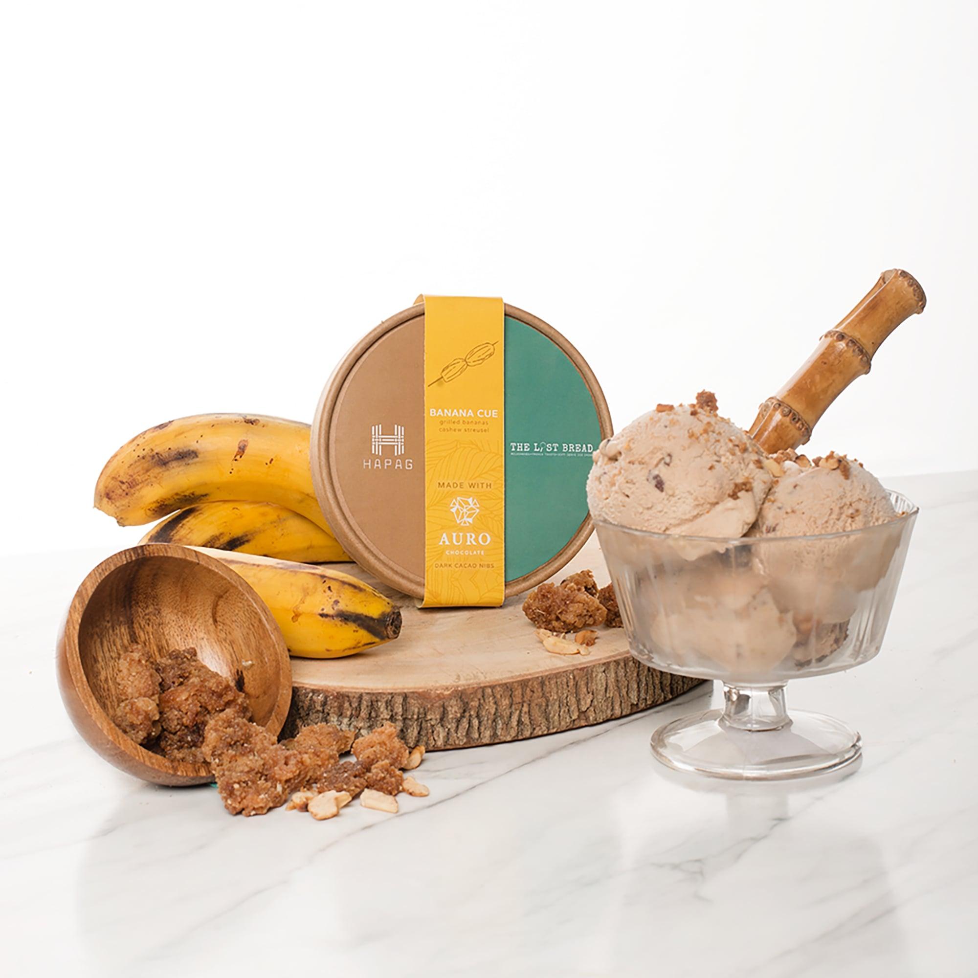 banana cue ice cream