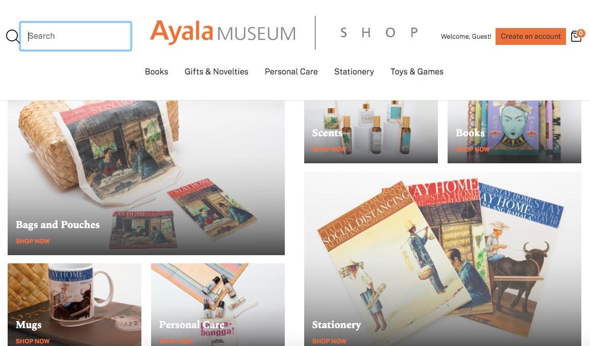 ayala museum shop